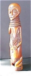 Click here to enlarge image and see more about item A29: Hand Carved  African Lega  Ancestor Figure