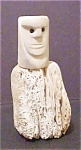 Click here to enlarge image and see more about item A303: Eskimo Carved Bone Figure