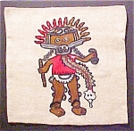 Click to view larger image of pre-Columbian Style Pillow Cover - #1 (Image1)