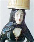 Click here to enlarge image and see more about item A331: Spanish Lady Decanter