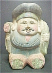 Click to view larger image of Vintage Wooden Oriental Figure (Image1)