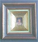 Click to view larger image of Vintage Custom Framed Stamp Native American (Image1)