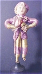 Click here to enlarge image and see more about item A389: Vintage Gramophone Wire & Cloth Doll