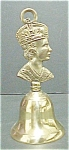 Brass  Bell - King Figural Handle