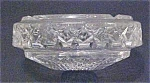 Click here to enlarge image and see more about item A40: Leaded Cut Crystal Ashtray