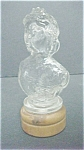 Click here to enlarge image and see more about item A415: Vintage Figural Perfume Cream Bottle
