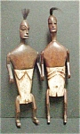 Click to view larger image of Pair of  Articulated Lombok Ancestor Figures (Image1)