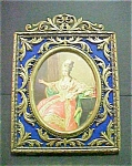Click to view larger image of Vintage Italian Brass Metal Frame (Image1)