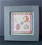 Folk Art Print - Signed & Dated