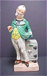 Click here to enlarge image and see more about item A471: Western Old Time Banker Decanter - Unique