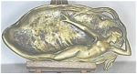 Click here to enlarge image and see more about item A47: Art Nouveau Metalware
