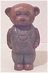 Click to view larger image of Hand Carved Wooden Bear (Image1)