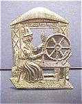 Click to view larger image of Brass Welsh Figural Souvenir (Image1)