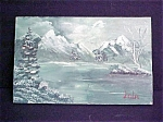 Click to view larger image of Miniature Scenic View  Of Mountain Lake (Image1)