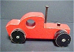 Click to view larger image of Folk Art Wooden Tow Truck - Vintage (Image1)