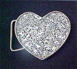 Heart Shaped Metal Belt Buckle