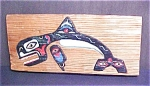 Click here to enlarge image and see more about item A765: North Coast Haida Or Tlingit Plaque - Signed