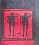 Click to view larger image of pre-Columbian Style Designs/Runner or Hanging (Image1)