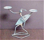 Indonesian Surfer Figure Candleholder
