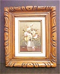 Click here to enlarge image and see more about item A808: Still -Life  Of  Flower Arrangement