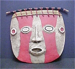 Click here to enlarge image and see more about item A838: pre-Columbian Style Funerary Mask - I