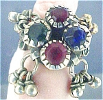 Click here to enlarge image and see more about item A844: Afghanistan Nomad Thumb Ring