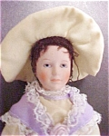 Click here to enlarge image and see more about item A851: Victorian Porcelain Decorative Figure/Doll