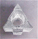 Click here to enlarge image and see more about item A860: Christmas Glass Tree Candleholder