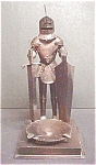 Click to view larger image of S.  Mexico Conquistador Metal Ashtray (Image1)