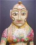 Click here to enlarge image and see more about item A902: Asian Indian Female Figure - 20th Century