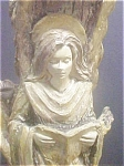 Click here to enlarge image and see more about item AA116: Fanciful  Form Angel Candlestick