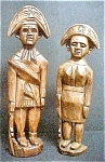 Click here to enlarge image and see more about item AA120: Colonial Style Wooden Soldiers