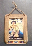 Click here to enlarge image and see more about item AA145: Buffalo Bill himself/custom Framed