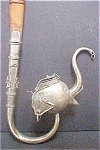 Click here to enlarge image and see more about item AA168: Asian Indian Elephant Metal/Wood Pipe