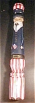 Click to view larger image of Wooden Uncle Sam - Signed & Dated (Image1)
