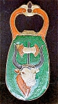 Click to view larger image of Egyptian Cloisonne Bottle Opener - Two Sided (Image1)