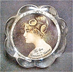 Click here to enlarge image and see more about item AA210: The Girl of the Pingree Shoe Paper Weight