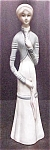 Click here to enlarge image and see more about item AA241: Ceramic Victorian Style Lady Figurine