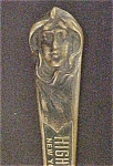 Click here to enlarge image and see more about item AA250: Art Nouveau Advertising Letter Opener