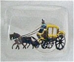 Victorian Horse/Carriage Scene Tie Tac