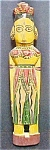 Click here to enlarge image and see more about item AA287: Asian Indian Female Folk Art Figure