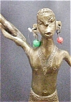 Click to view larger image of Brass Tribal Male Figure (Image1)