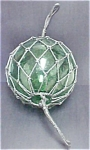 Click here to enlarge image and see more about item AA304: Portuguese Glass Fishing Float - 20th c