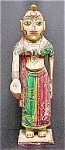 Click here to enlarge image and see more about item AA315: Vintage Asian Indian Female Statue