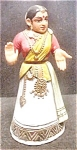 Click here to enlarge image and see more about item AA334: Hand-Made Kondapalli Doll from India
