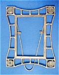 Click to view larger image of Vintage Metal Arts and Crafts Style Frame (Image1)