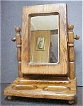 Click here to enlarge image and see more about item AA346: Dressing/Shaving Mirror Stand
