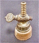 Click here to enlarge image and see more about item AA354: Vintage Fancy Valve Sculpture