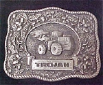 Click to view larger image of Trojan Belt Buckle - Advertising (Image1)