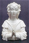 Click here to enlarge image and see more about item AA375: Praying Madonna Figure - Signed